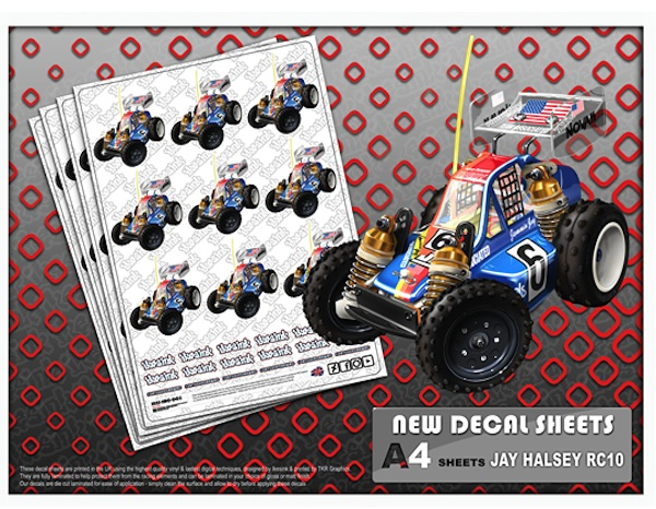 Ike's Ink R/C illustrations decal sheets