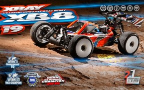 XRAY: XB8 2019 1/8 scale nitro buggy kit