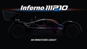 Kyosho Inferno MP10: 1/8 scale nitro buggy teaser