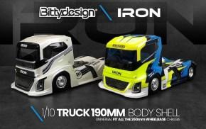 Bittydesign: IRON 1/10 scale 190mm truck body