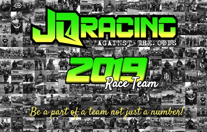 JQ Racing is accepting applications for 2019 race team