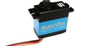 Savox: SW-1250MG Waterproof Mini Digital Servo