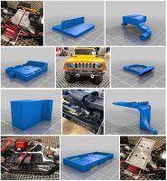Redcat Racing Gen7 & Gen8: 3D Free Printable Parts