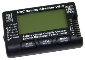 HRC Racing Battery Checker V8.0