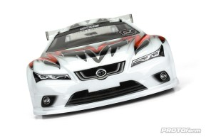 Protoform Spec6 190mm Touring Car Clear Body