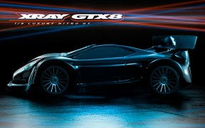Xray GTX8 Competition 1/8th Scale Nitro GT Chassis
