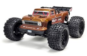 ARRMA: 1/10 OUTCAST 4X4 4S BLX Brushless Truggy Video