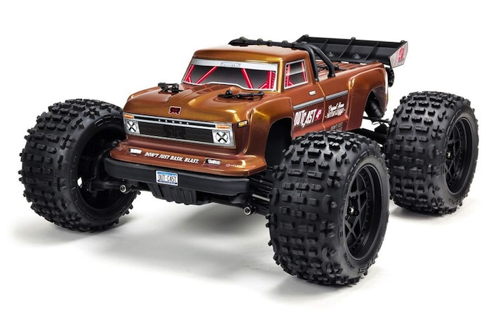 OUTCAST 4X4 4S BLX Brushless Truggy RTR