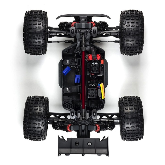 ARRMA 1/10 OUTCAST 4×4 4S BLX Brushless Truggy RTR