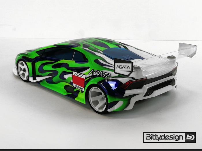 Bittydesign: AGATA 1/12 scale clear body