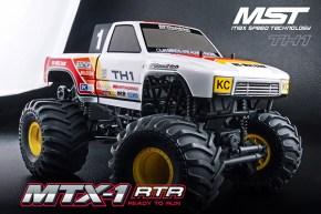 MST: New MTX1 Monster Truck coming soon!