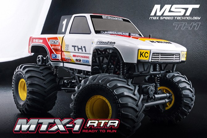 MST: New MTX1 Scale Monster Truck