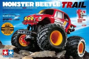 Tamiya: Monster Beetle Trail 4WD (GF-01TR)