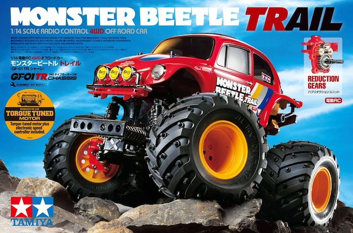 Tamiya: Monster Beetle Trail (GF-01TR)