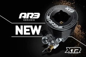 XTR Racing: AR3 Tuned Engine for 1/8 off-road