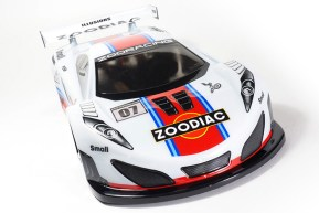 ZooRacing ZooDiac 190mm Touring Cars Body Shell
