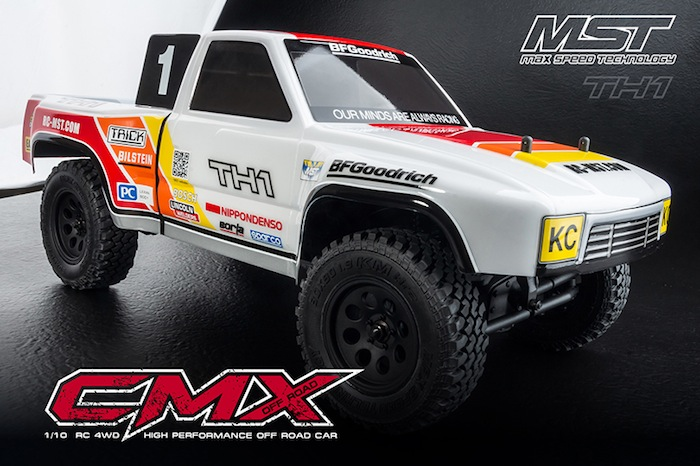 MST- CMX TH1 1_10 Scale 4WD Off-Road Kit 02