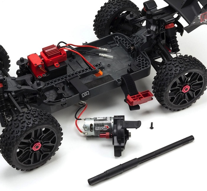 ARRMA TYPHON 1_8 Brushed 4WD Buggy rtr