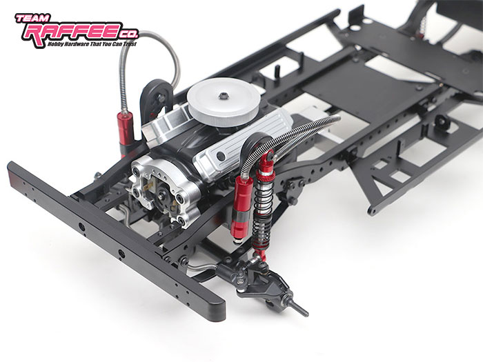 Team Raffee: 1/10 Defender D130 6x6 Chassis Kit