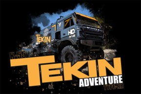Tekin: K-55 Dakar Custom Truck - VIDEO