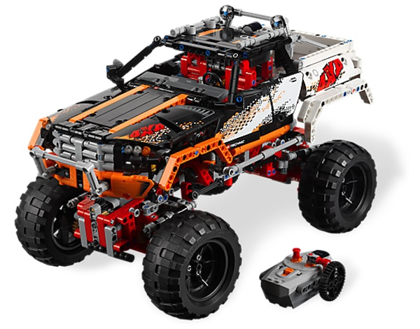 LEGO TECHNIC: Which is the best off-roader?