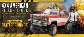 TTRC Sport 4×4 American Pick Up - PlayerUnknown's Battlegrounds