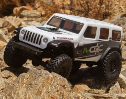 Axial SCX24 Jeep Wrangler JLU CRC Rock Crawler 1/24