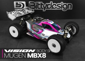 Bittydesign Vision MBX8 Buggy Body Shell