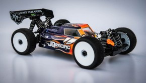 JQ Black Edition eCar 1/8th Scale Racing Buggy kit