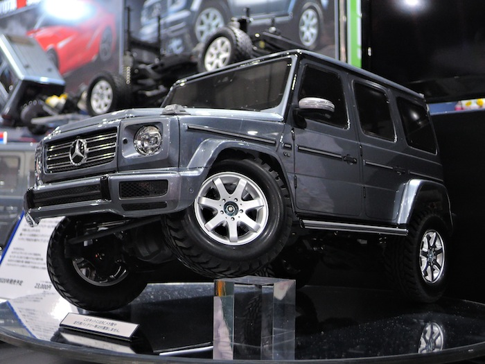Tamiya Mercedes-Benz G500 CC02 Chassis - Tokyo Hobby Show 2019