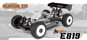 HB Racing: E819 Electric off-road 1/8th Scale Buggy
