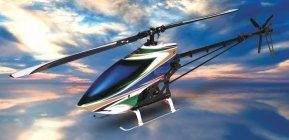 Hirobo SST-Eagle 4 EP SSL-III Brushless Helicopter