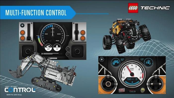 LEGO APP Controlplus