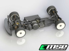 Mugen: MSE Front Wheel Drive Conversion Set for MTC1