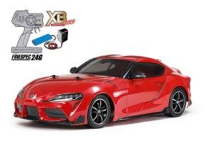 Tamiya Toyota GR Supra RED Expert Built Pro