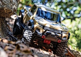 Traxxas: TRX-4 Sport with Desert Tan body