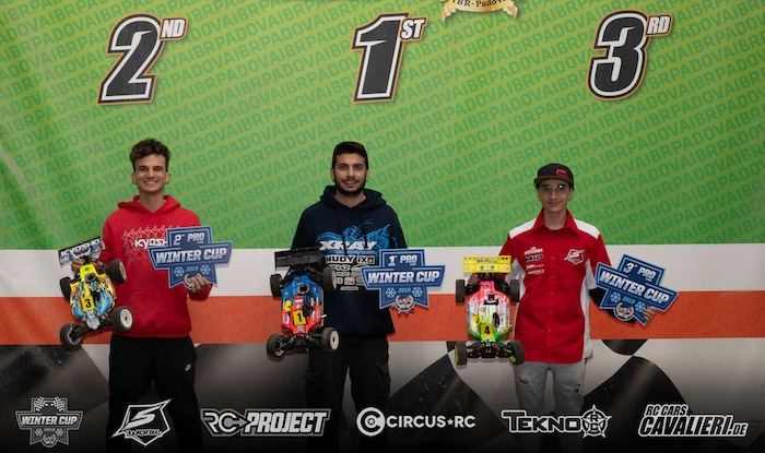Italy: Baruffolo and Canas win at 2019 Winter Cup