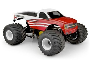 JConcepts: 2005 Silverado Monster Truck Body