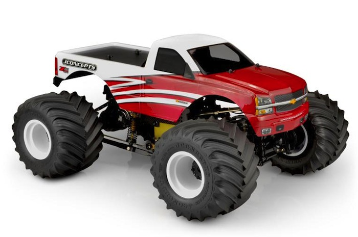 JConcepts: 2005 Silverado Monster Truck Body