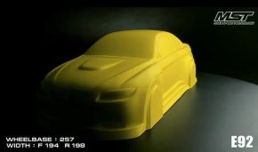 MST: E92 Prototype body 200mm Drift Car – Teaser