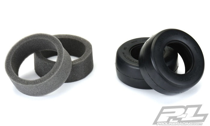Pro-Line: Reaction HP SC Drag Racing BELTED Tires - Video