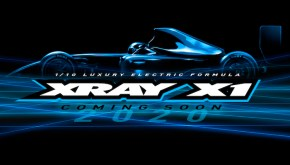 Xray: X1 2020 Electric Formula Car Kit