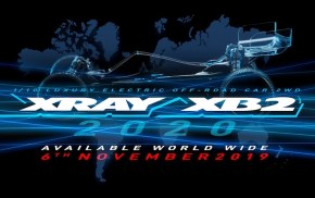 Xray: XB2 2020 available World Wide from 6th November