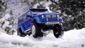 Traxxas: Mercedes-Benz G 500 4x4² - Winter Wonderland video