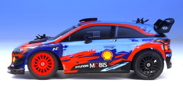 Carisma: GT24 Hyundai i20 WRC Rally - Video