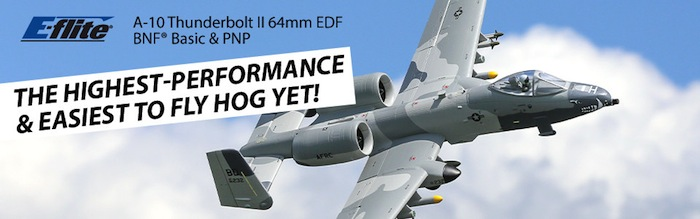 Eflite: A10 Thunderbolt II Twin 64mm