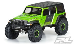 Pro-Line: Jeep Wrangler JL Unlimited Rubicon Body