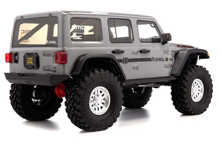 Axial- SCX10 III Jeep JLU Wrangler with Portals - RTR 0