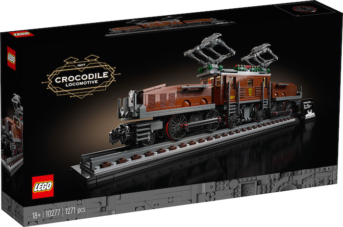 LEGO: new 10277 Crocodile Locomotive
