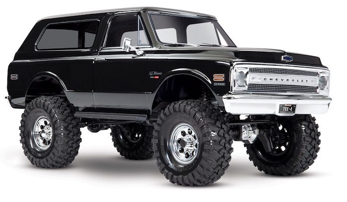 zTraxxas: Chevrolet '69 & '72 Blazer Bodies for the TRX4